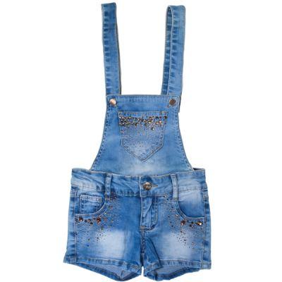 Шорти-комбінезон  джинсові