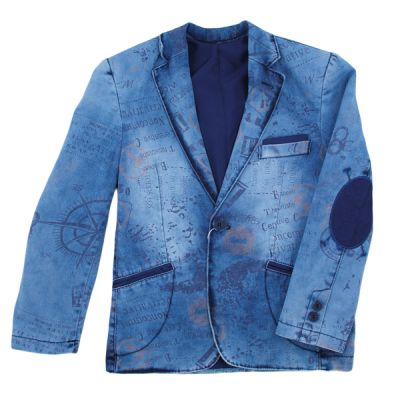 Піджак джинсовий р4-7