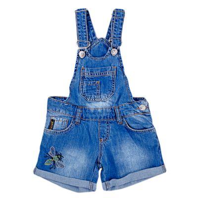 Комбінезон-шорти джинсовий