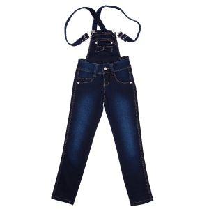 Брюки-комбінезон джинсові
