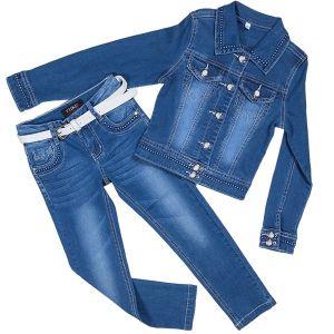 Костюм джинсовий
