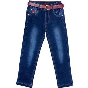 Брюки джинсові фліз