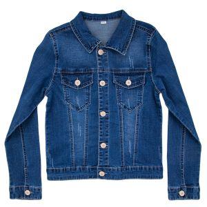 Піджак джинсовий